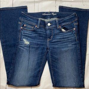 American Eagle stretch boot cut Jeans - B0319